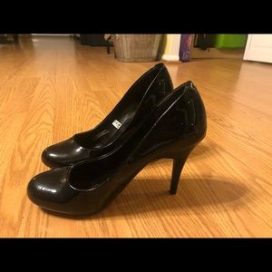 👠 CUTE PATENT BLACK PUMPS 👠 7